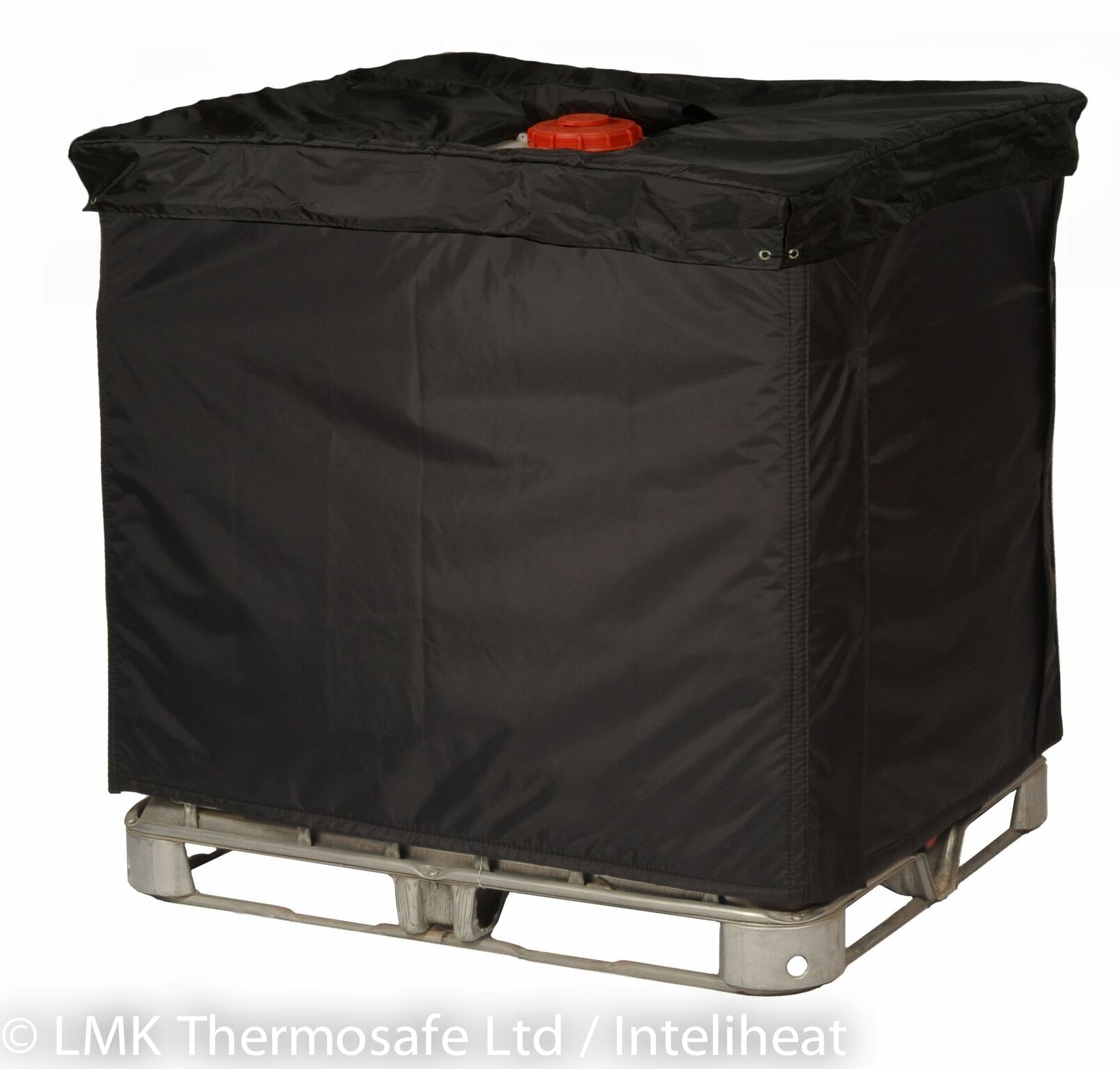 insulated ibc tote cover for 275 330 gallon ibc totes. Black Bedroom Furniture Sets. Home Design Ideas